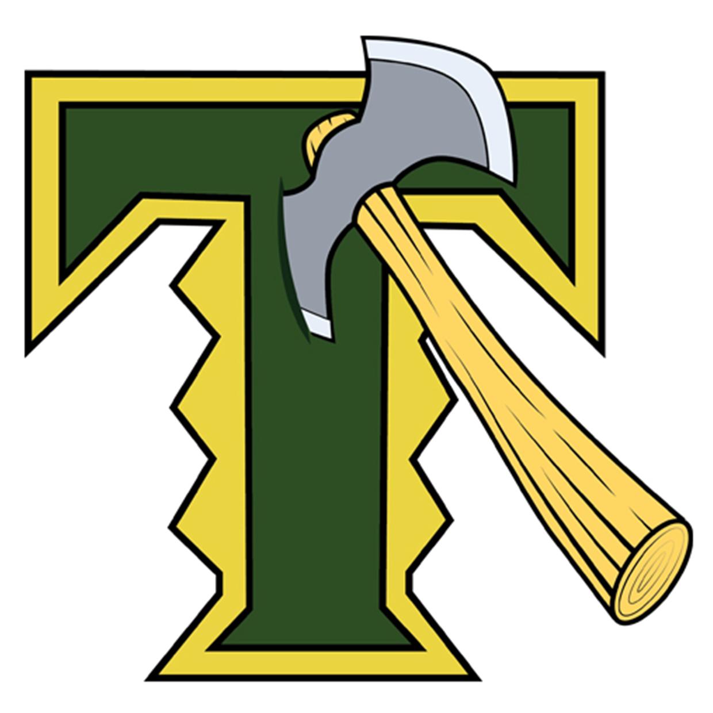 Timberline  wa  blazers logo