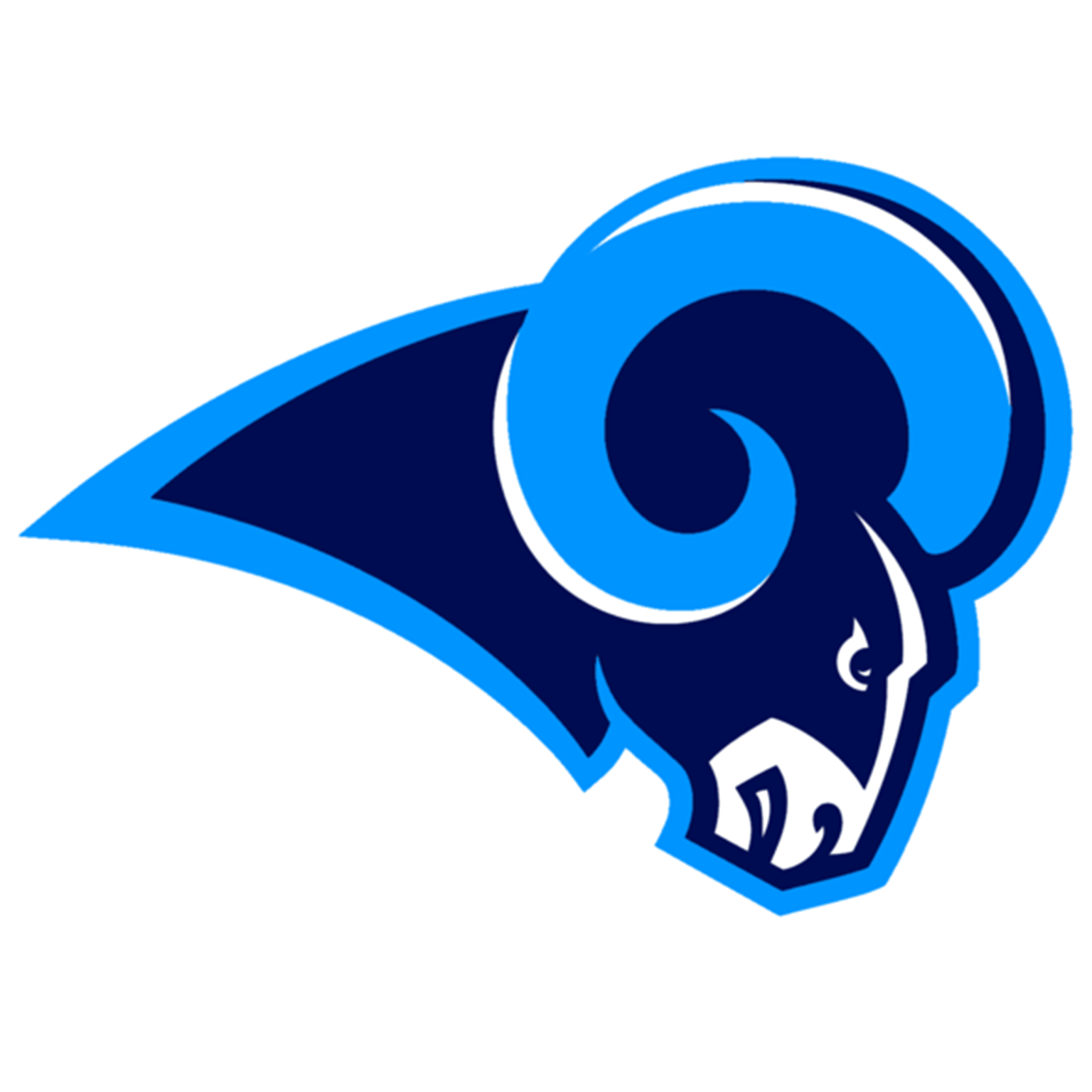 Rodgers  wa  rams logo