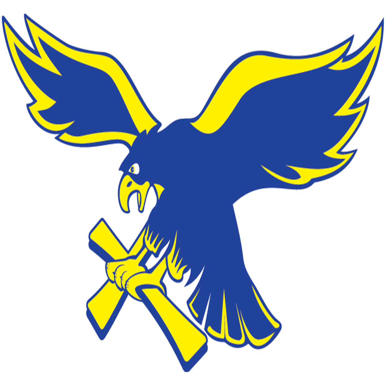 Grandview christian  mo  golden eagles logo