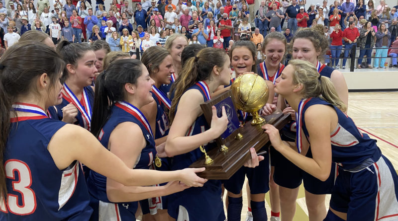 Leake Academy girls basketball