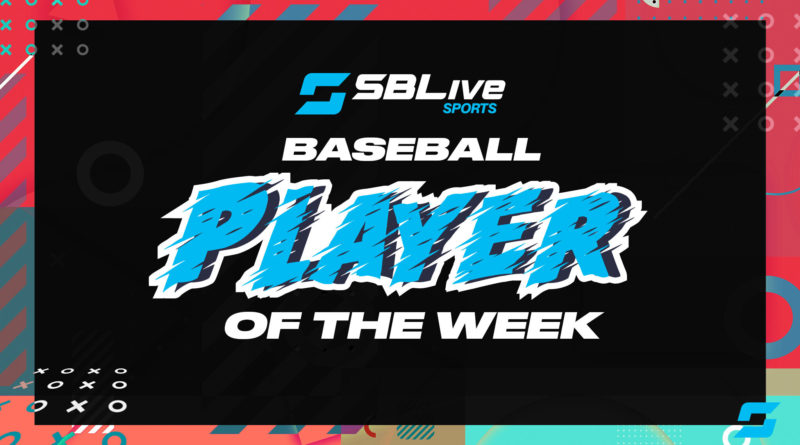 sblive baseball player of the week