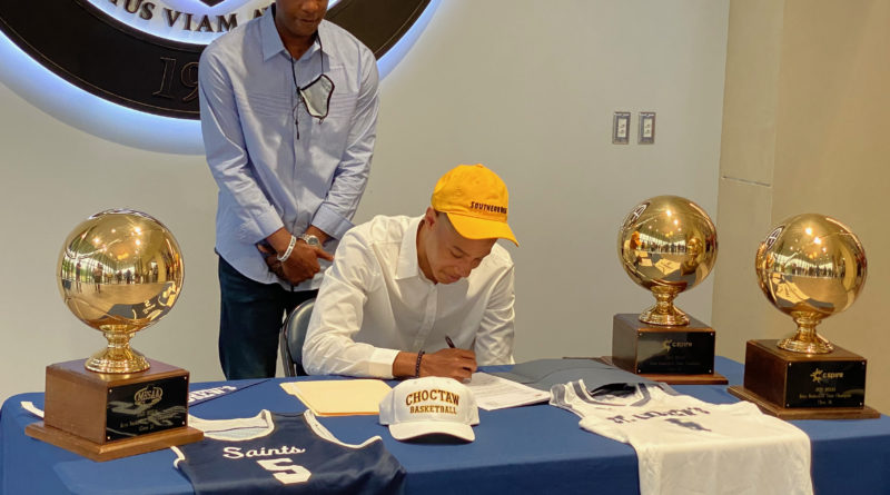 Rashad Bolden signs with Southern Miss