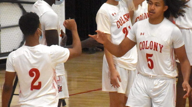 colony boys basketball