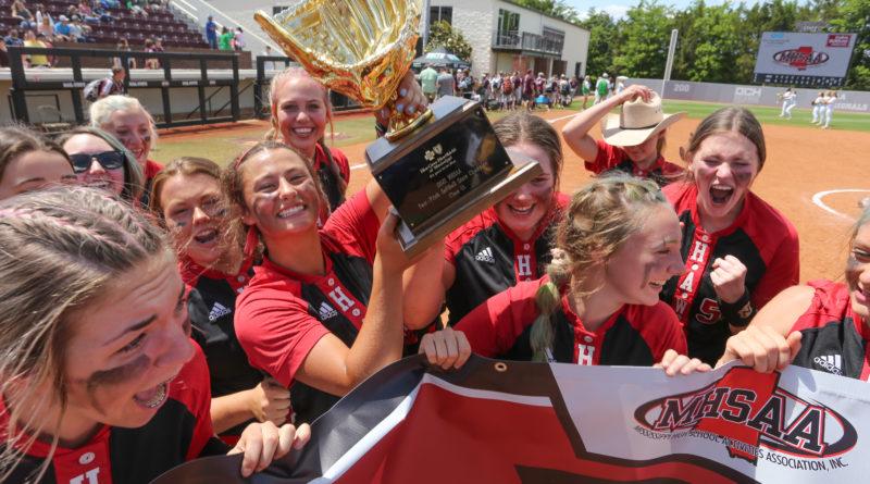 Myrtle wins 1A softball title
