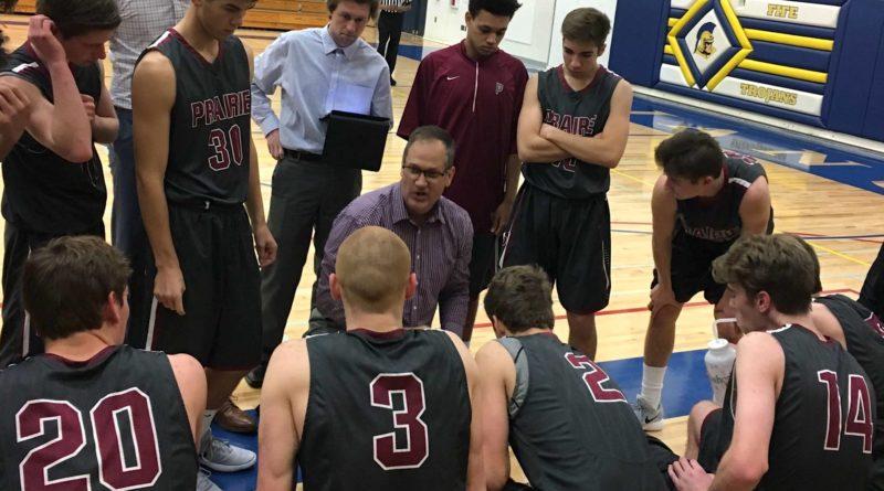 Prairie boys basketball coach Kyle Brooks