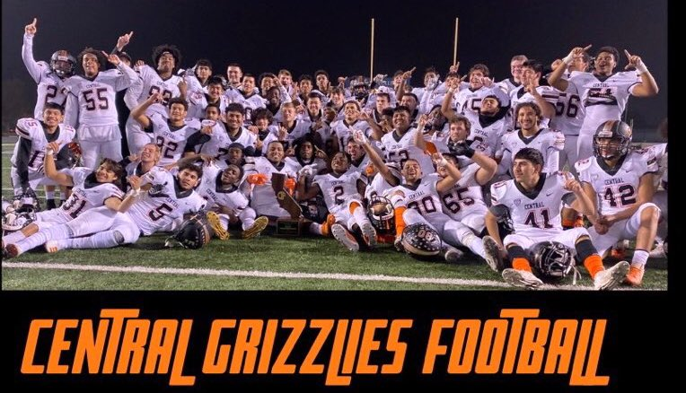 central grizzlies football