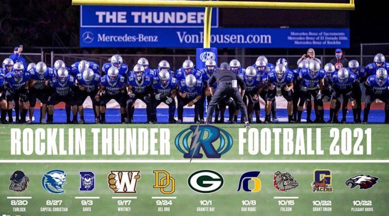 rocklin thunder football