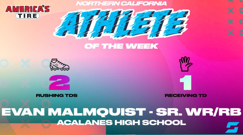Evan Malmquist, NorCal Athlete of the Week