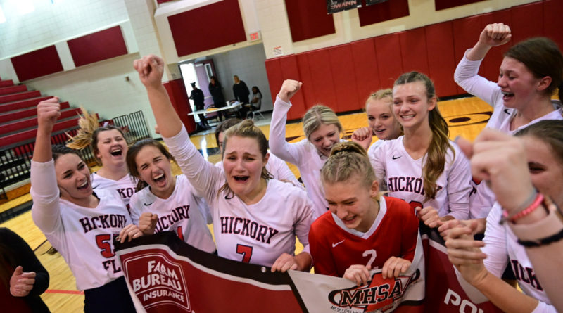 Hickory Flat MHSAA volleyball state title