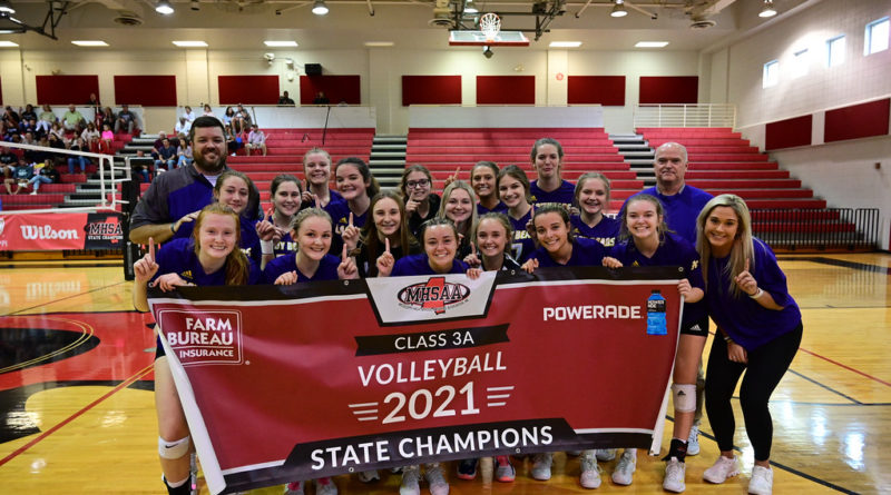 Alcorn MHSAA 3A volleyball state champions