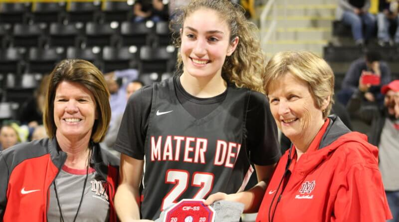 Brooke Demetre, Mater Dei girls basketball